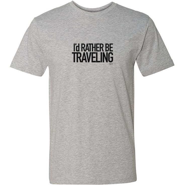 I/'d Rather Be Travelling T-Shirt